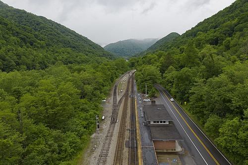 prince westvirginia drone mavicpro2 mavic hdr mountains clouds trees green