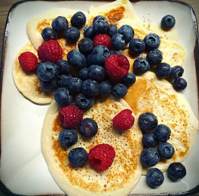 (veg) protein pancakes 🍁🍮🍪