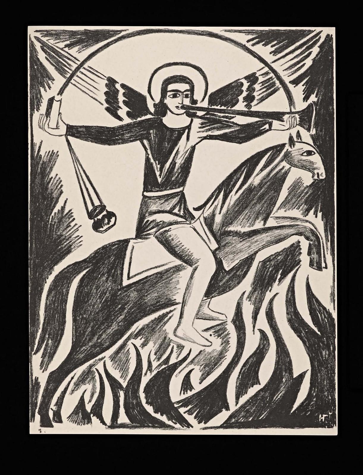 1914. Мистические образы войны 14 литографий-12