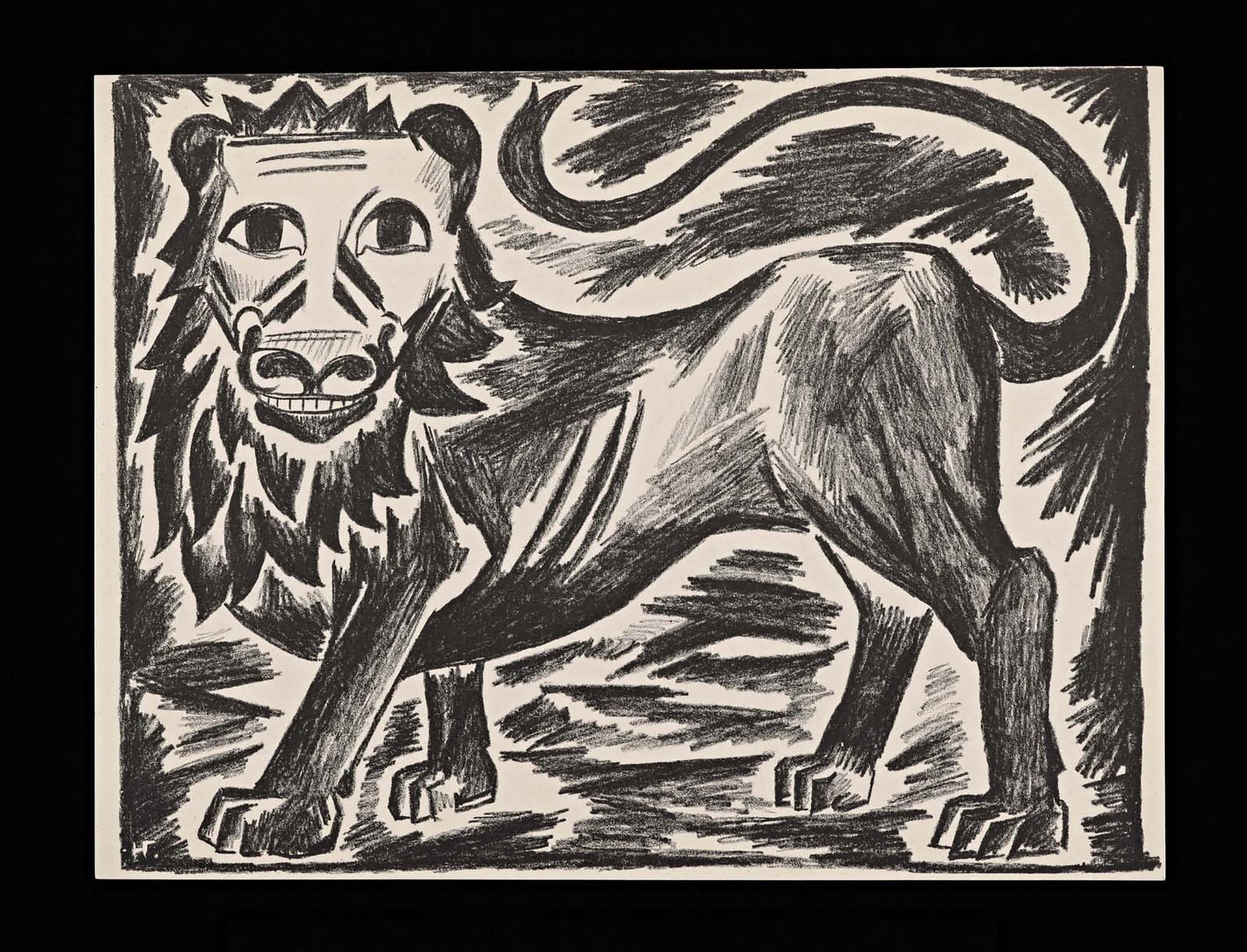 1914. Мистические образы войны 14 литографий-08