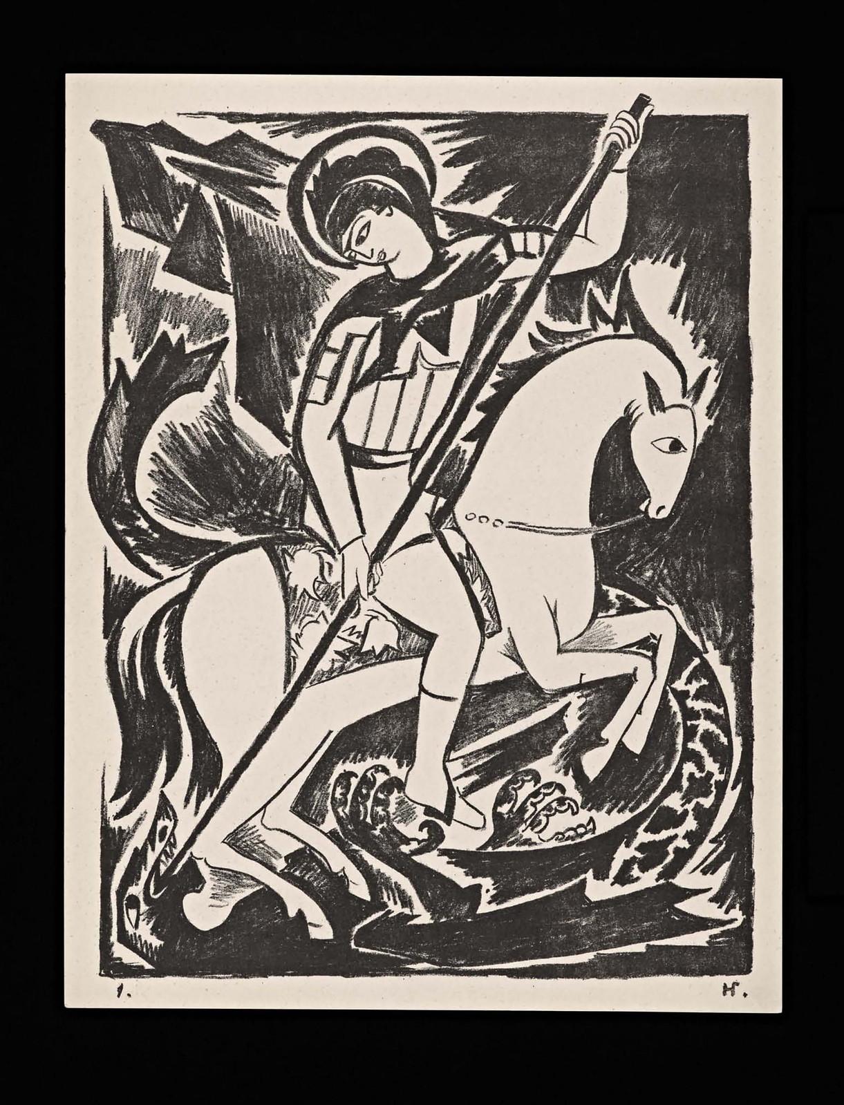 1914. Мистические образы войны 14 литографий-06