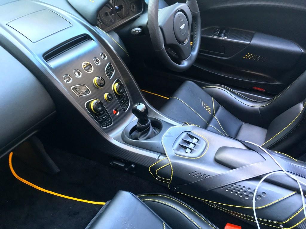7speed Manual Gearbox 2019 Aston Martin Vantage 6litre V12 Flickr