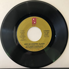 MCFADDEN & WHITEHEAD:AIN'T NO STOPPIN' US NOW(RECORD SIDE-A)