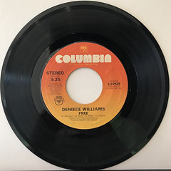 DENIECE WILLIAMS:FREE(RECORD SIDE-A)