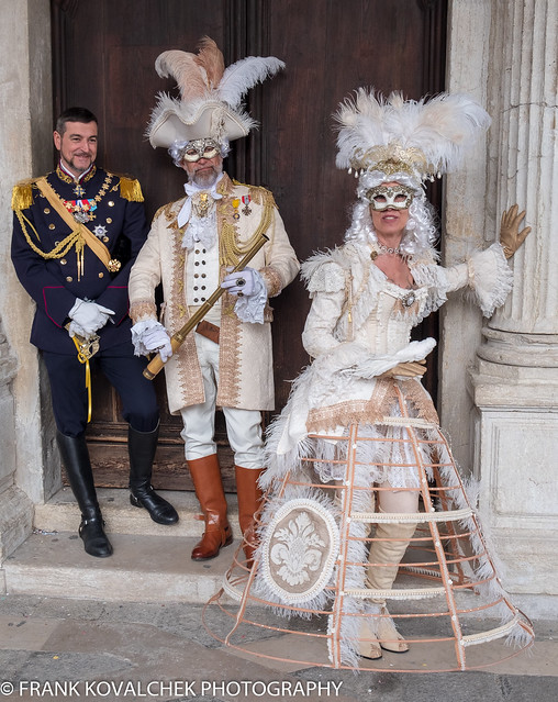 Model(s) at the 2019 Carnevale di Venezia - 2nd Sunday