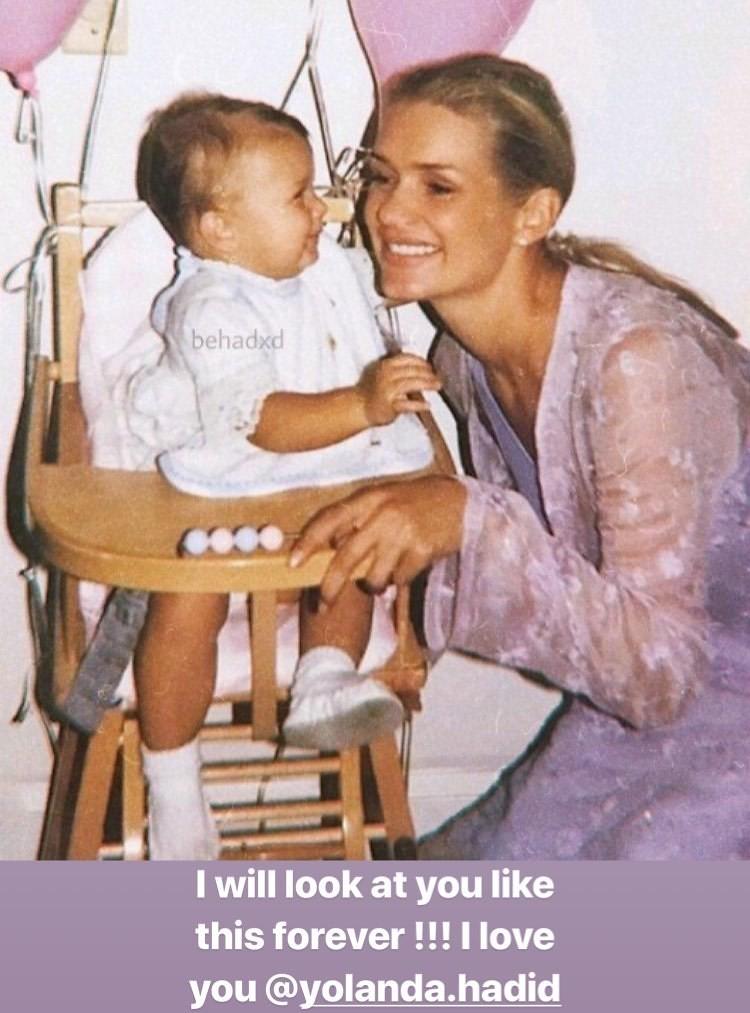 Белла Хадид с мамой Иоландой