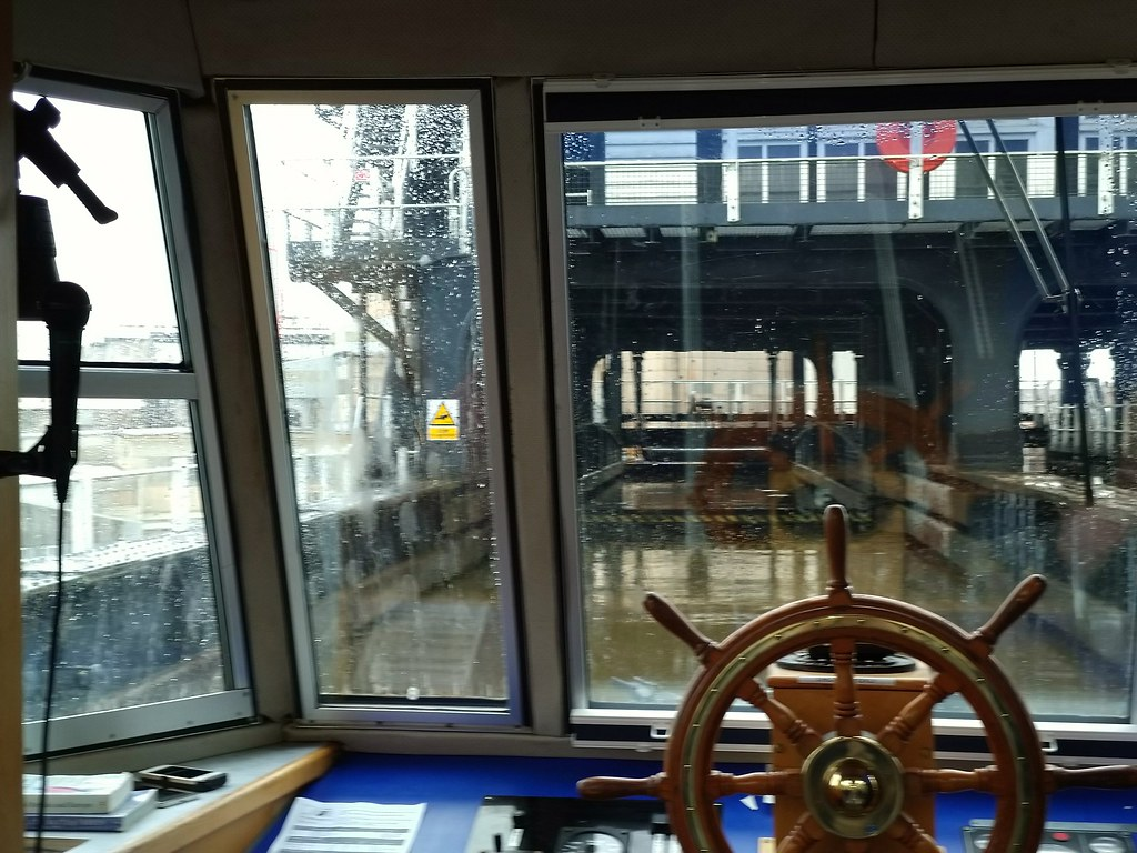 Inside the Anderton Boat Lift