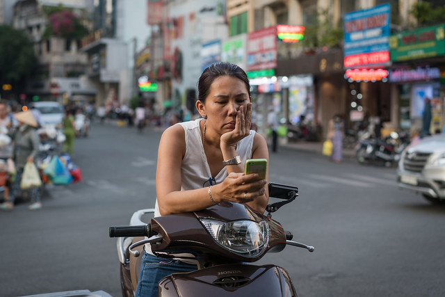 Catching Up in Saigon
