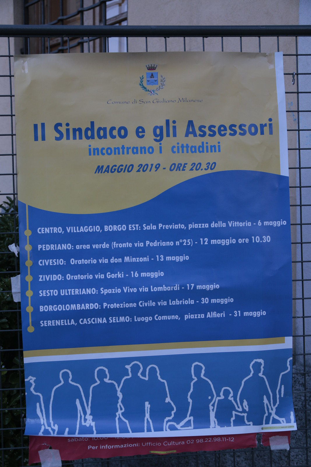 Il dialogo attraverso i quartieri a San Giuliano Milanese