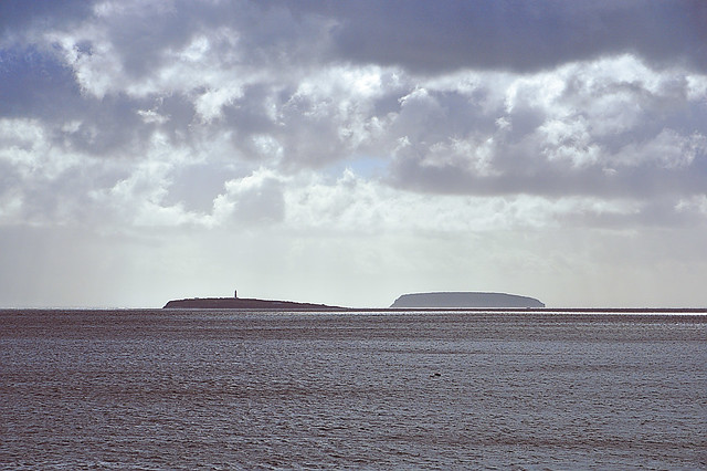 Steep Holm and Flat Holm