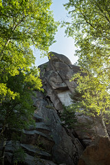 First pillar of the Stolby Nature Reserve - Siberia - Russia