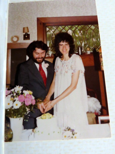old wedding photo May 19, 1979