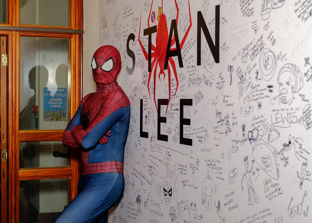 Spiderman - Stan Lee Wall