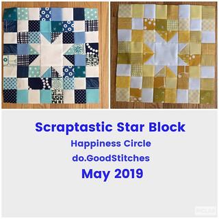 Scraptastic Star Block