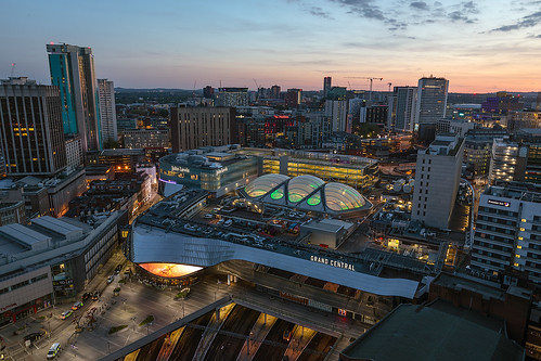 rotunda sunset city urban citycentre birmingham night stayingcoolapartments birminghamweare grandcentral birminghamicons