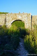 Ворота. Вид из крепости