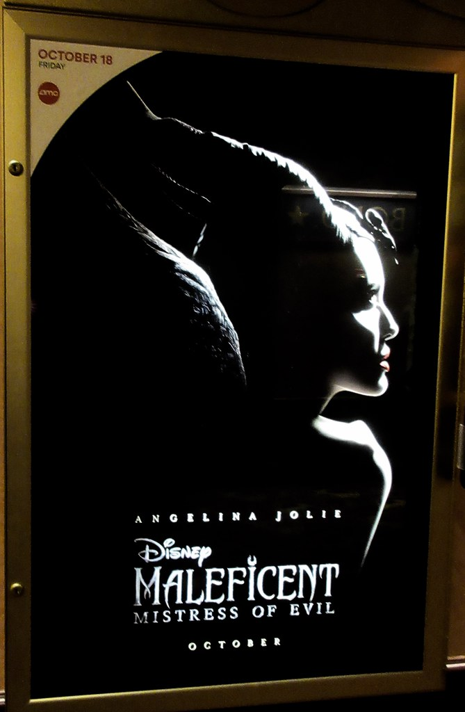 Maleficent Mistress Of Evil Movie Poster 8001 Maleficent M
