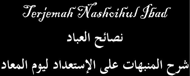 Terjemah Nashoihul Ibad