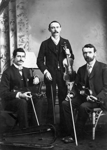 queensland statelibraryofqueensland violin violinist musicians fiddle trios violincase studioportrait