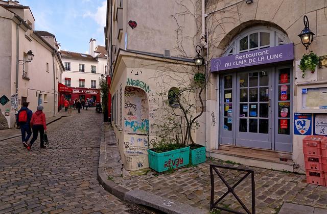 Montmarte / Paris / Rue Poulbot
