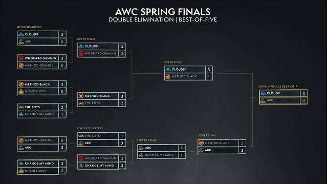 AWC 2019 Bracket final