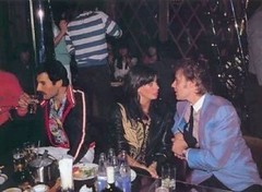 Freddie, Roger, and Dominique