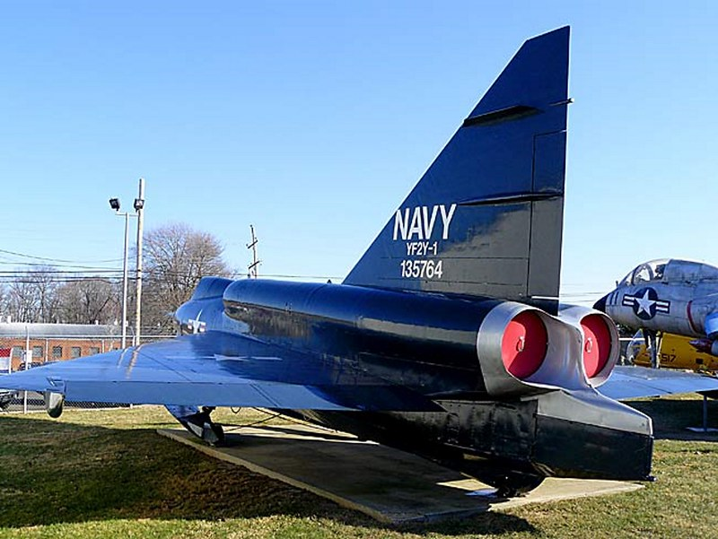 Convair YF-2Y 바다 Dart00002