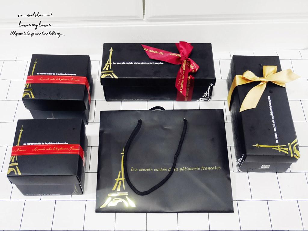 台北車站伴手禮彌月蛋糕長條蛋糕下午茶甜點推薦法國的秘密甜點 (9)
