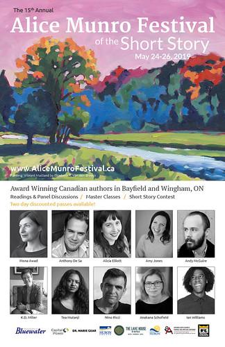 Alice Munro Festival Short Story Poster