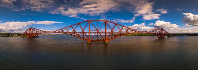 Forth Bridge Edinburgh :: Panorama