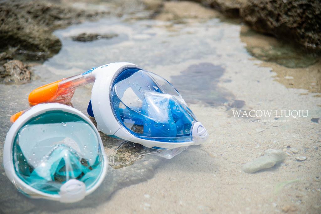 迪卡儂浮潛蛙鏡