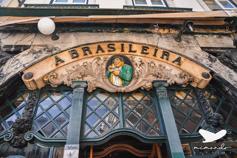 Café A Brasileira - Dónde comer en Lisboa bien