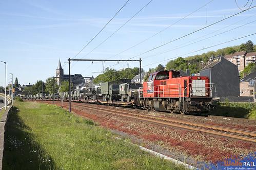 6507 . DB Cargo . Z 44786 . Visé . 13.05.19.