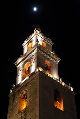 Bell Tower Moon