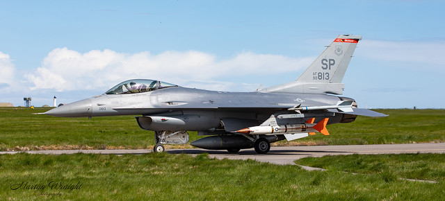USAFE LM F16CM Fighting Falcon