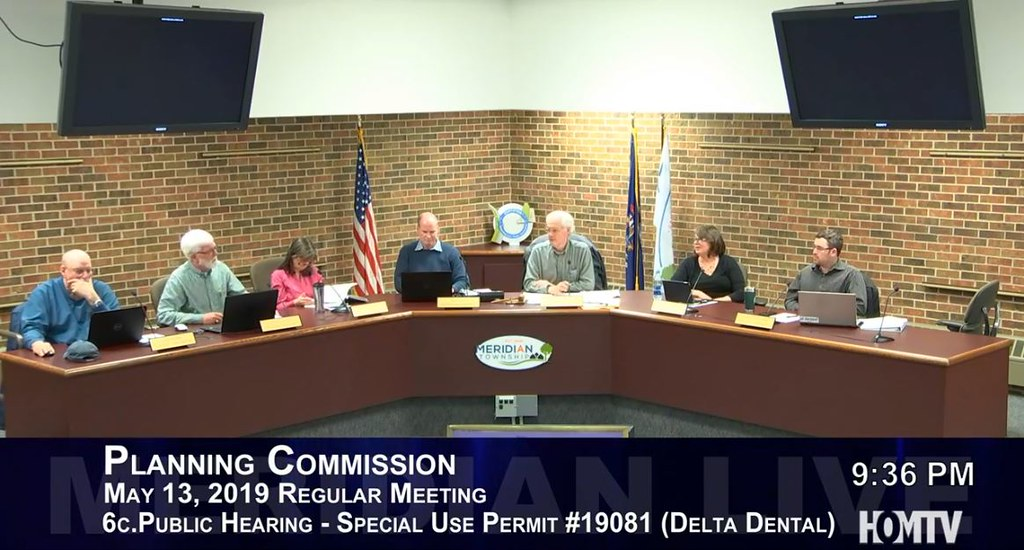 Planning Commission Discusses Delta Dental Deck Construction