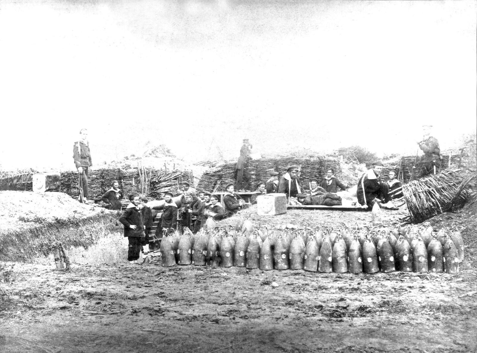 07. 1870. Осада Парижа. Морская пехота. Батарея Жозефина, Порт-де-Сент-Уэн