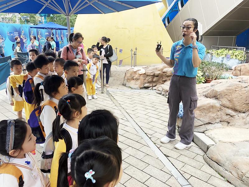 香港海洋公園學院 – 海洋嘉年華學習活動~愛級(K3)