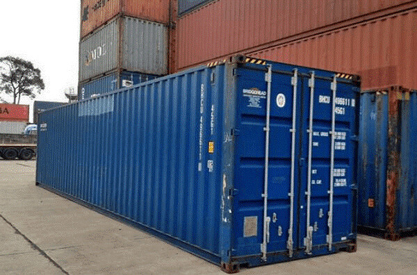 Giá container 40 feet cũ