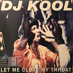 DJ KOOL:LET ME CLEAR MY THROAT(JACKET A)