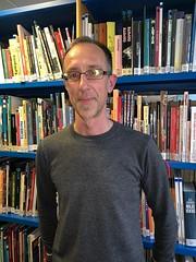 Ganador del comic dedicado del mes de abril en la biblioteca.