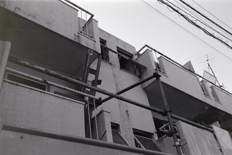 008LeicaM2 Summaron 35mm f35 Kodak 400TX池袋一丁目