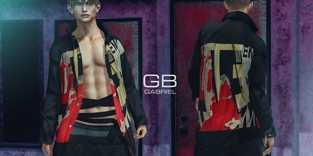 Gabriel – Open Shirt @ equal10