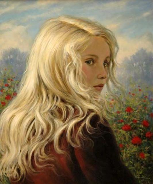 Painting by Emmanuel Garant