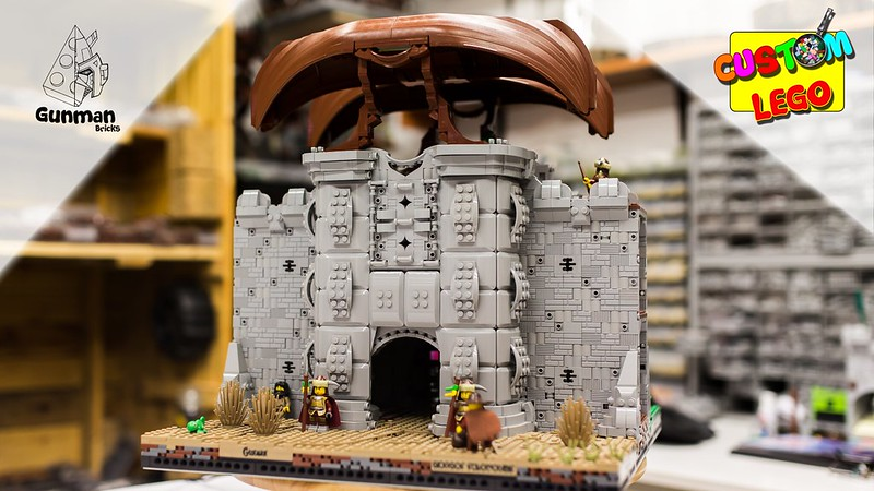 [Gunman Bricks]:LEGO Castle MOC Highlights - Kastra Gatehouse 40882179303_b7b4b1006c_c
