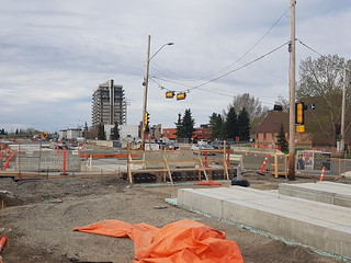 LRT Valley Line south construction:  From Grey Nuns station to Wagner station   by paulsmolik