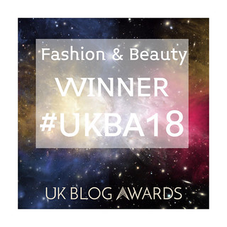 UKBA18 fashion and beauty winner
