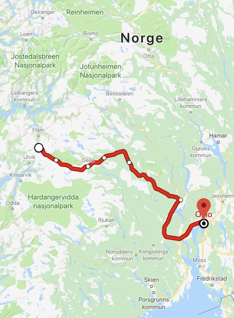 Norway in a nutshell Myrdal till Oslo  - reaktionista.se
