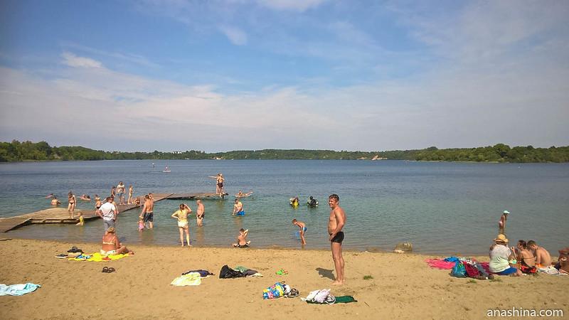 Синявинское озеро, Янтарный, Калининградская область