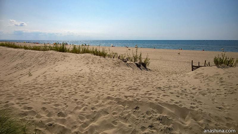 Пляж в Янтарном, Калининградская область